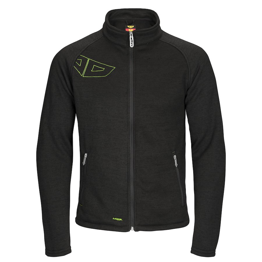 Pánská mikina Fellas Fleece Zip Dark Grass