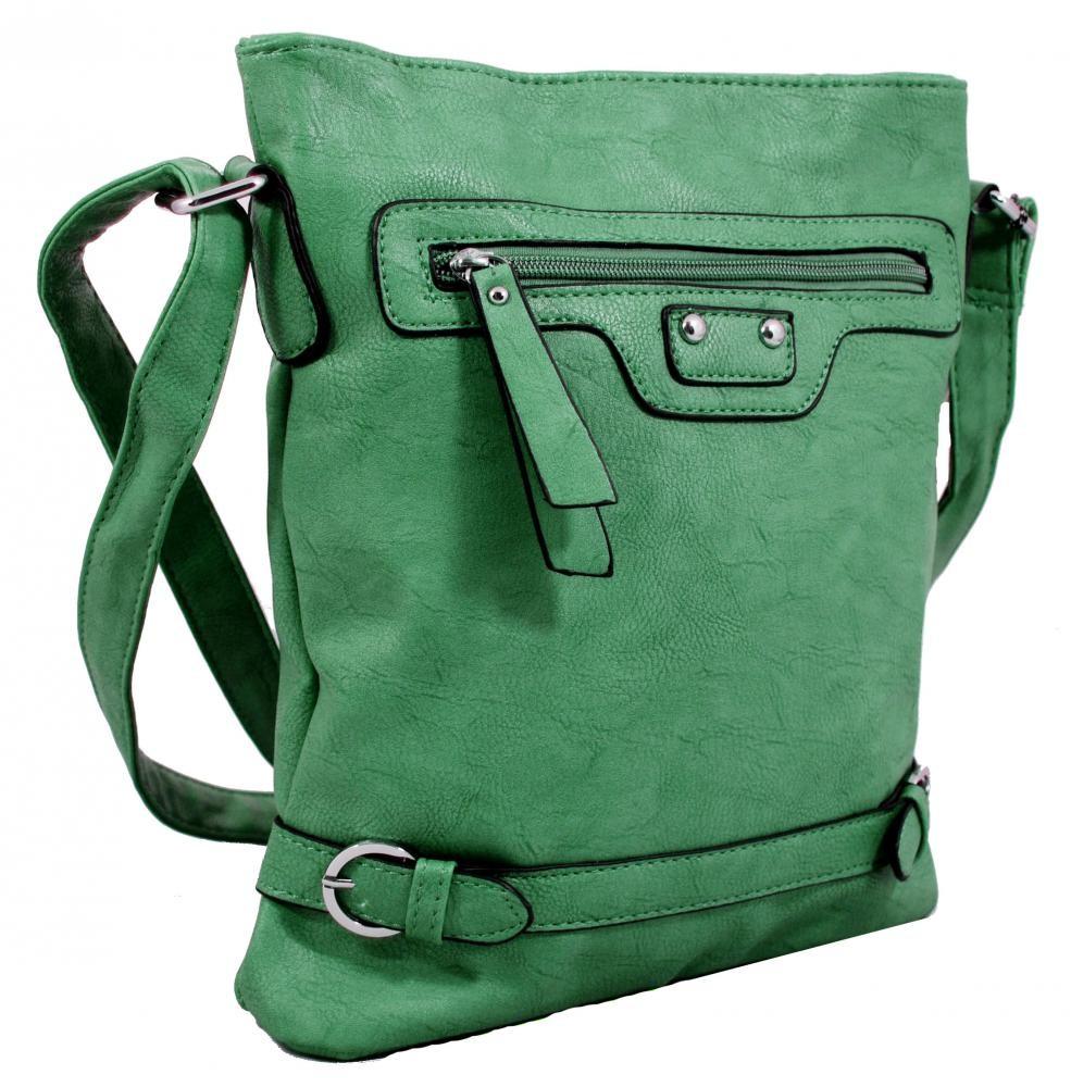 Crossbody kabelka S0710 zelená