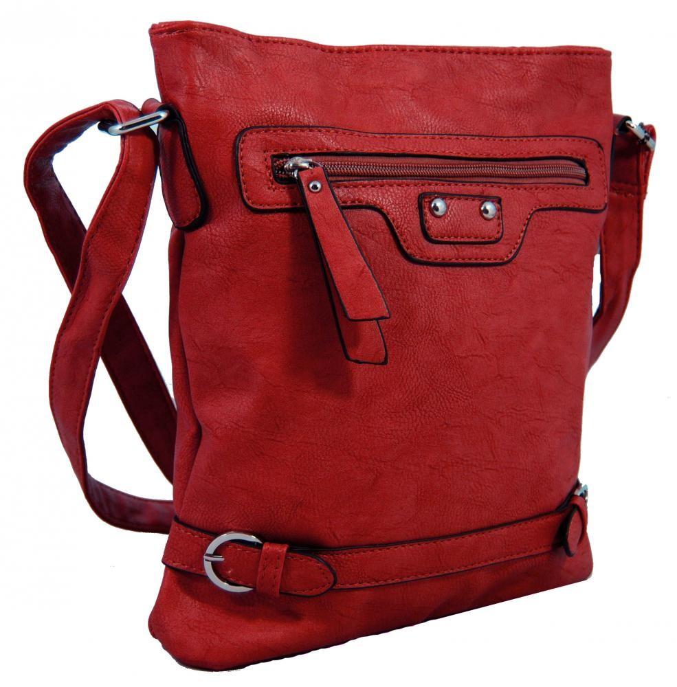 Crossbody kabelka S0710 červená