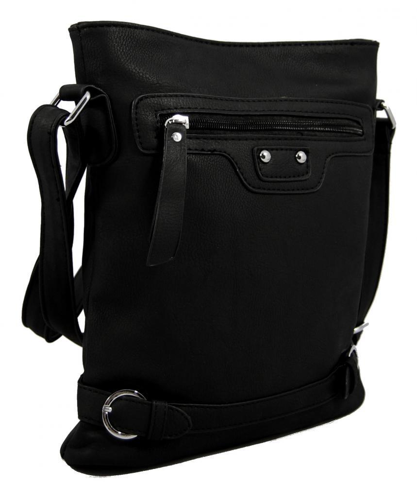 Crossbody kabelka S0710 černá