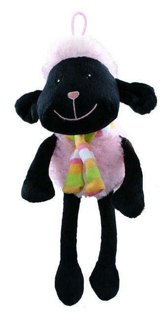 Plyšová ovečka 30 cm s poutkem, 3 barvy