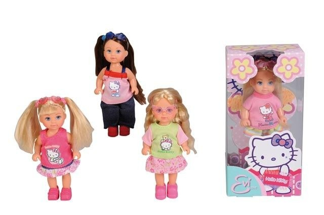 Panenka Evička Hello Kitty, 4 druhy