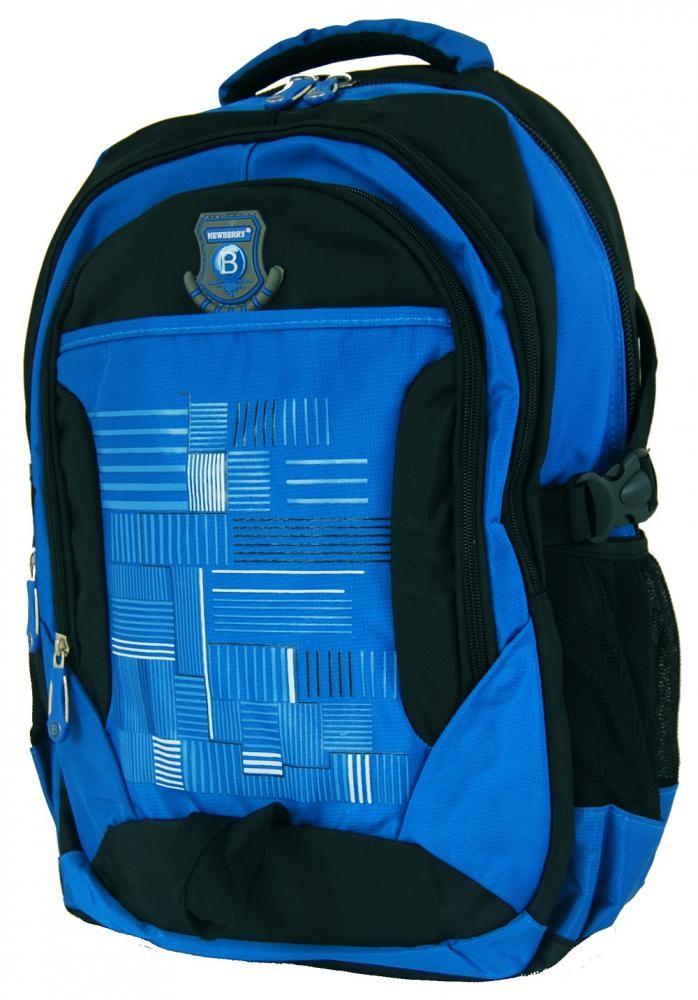 Batoh do města / do školy L814 modro-černý