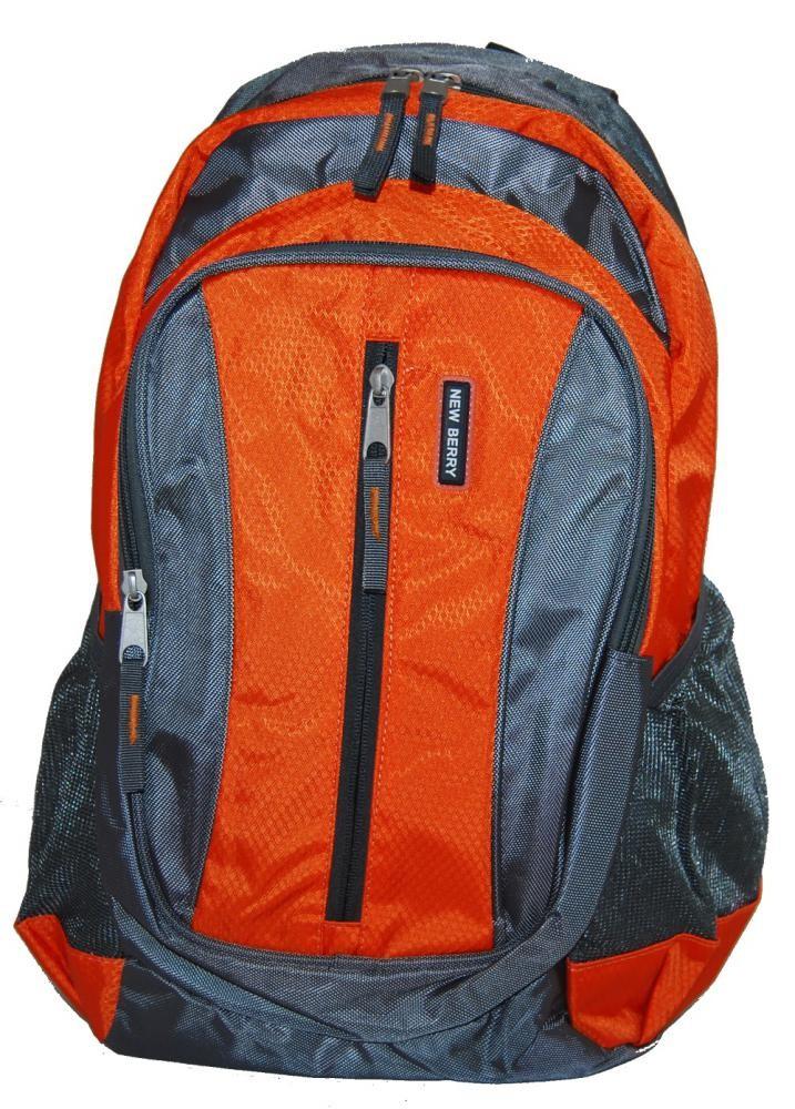 Batoh do města / do školy L673 oranžovo-šedý