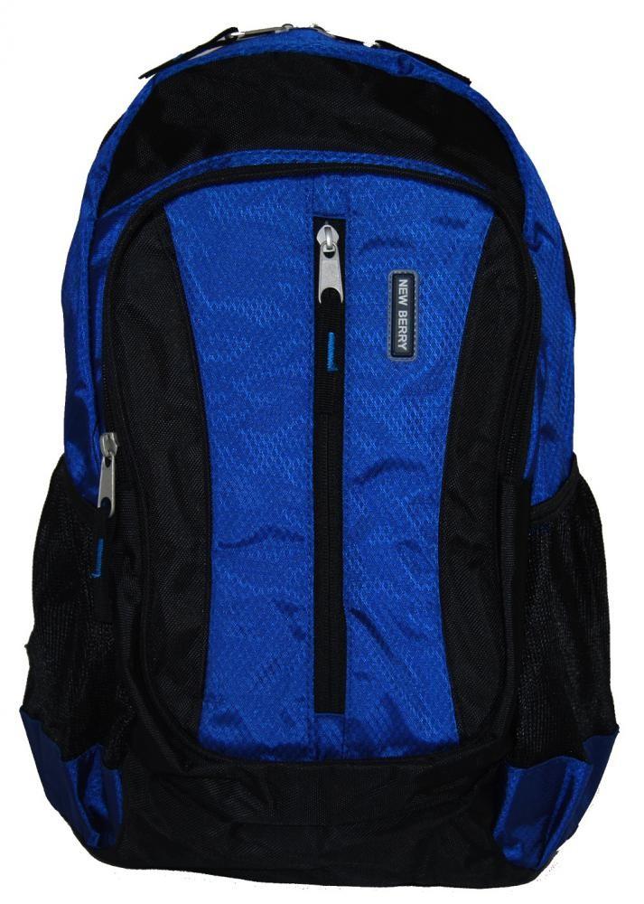 Batoh do města / do školy L673 modro-černý