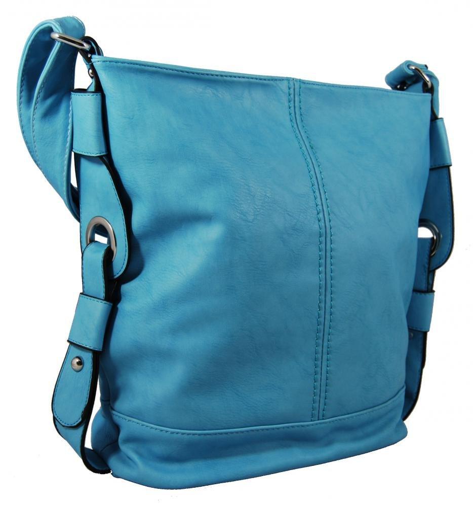 Střední dámská crossbody kabelka D1050 modrá