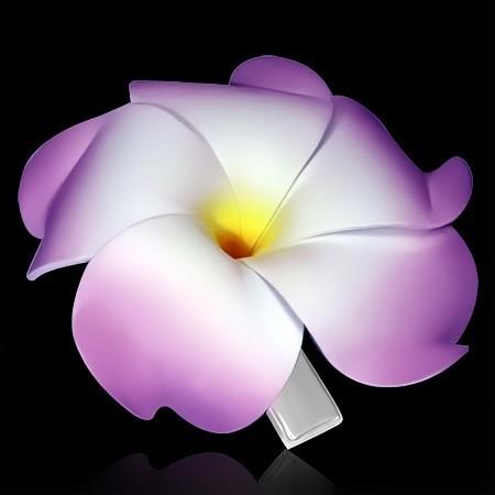 Spona do vlasů Květ th-faa007
