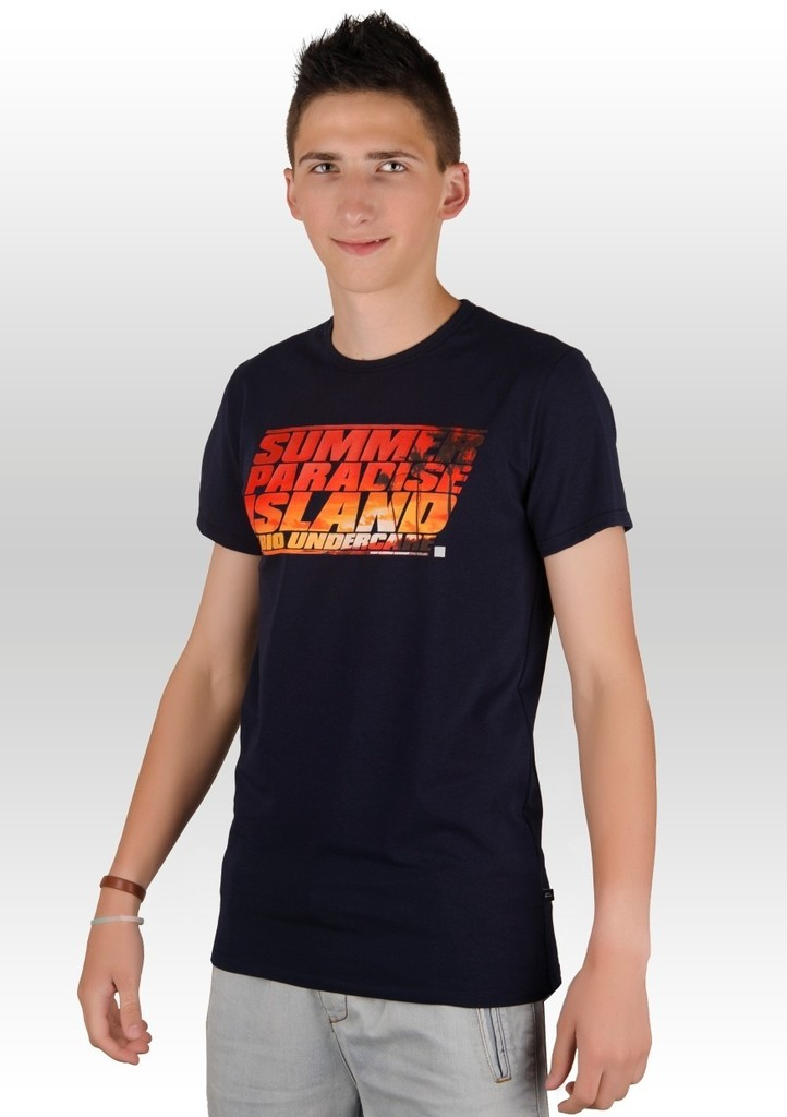 Pánské tričko s nápisem Summer paradise island