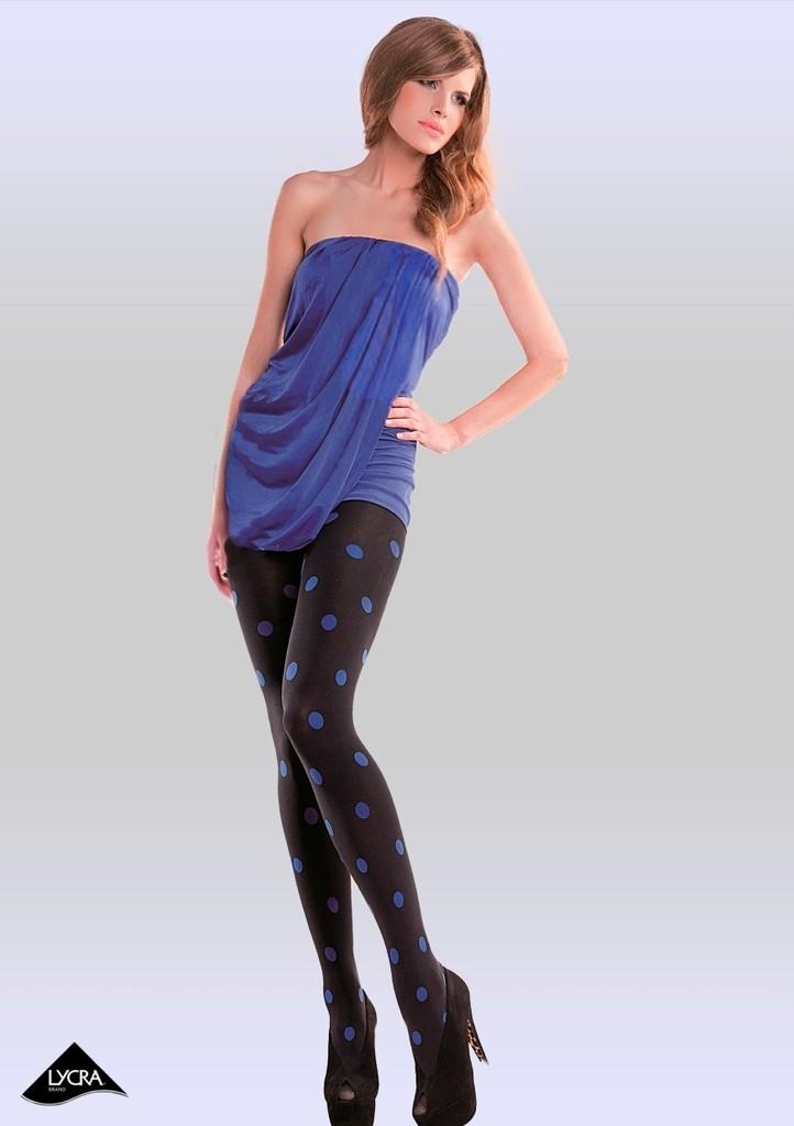 Dámské vzorované punčochové kalhoty Punto