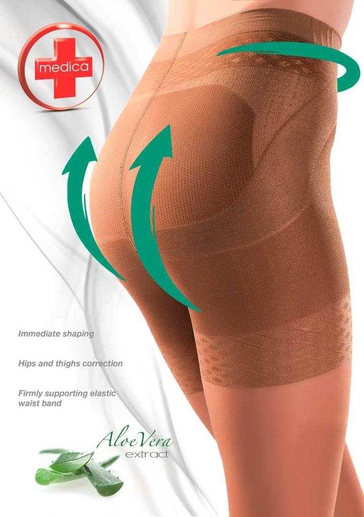 Punčochové kalhoty PUSH UP tvarující hýždě 40 DEN