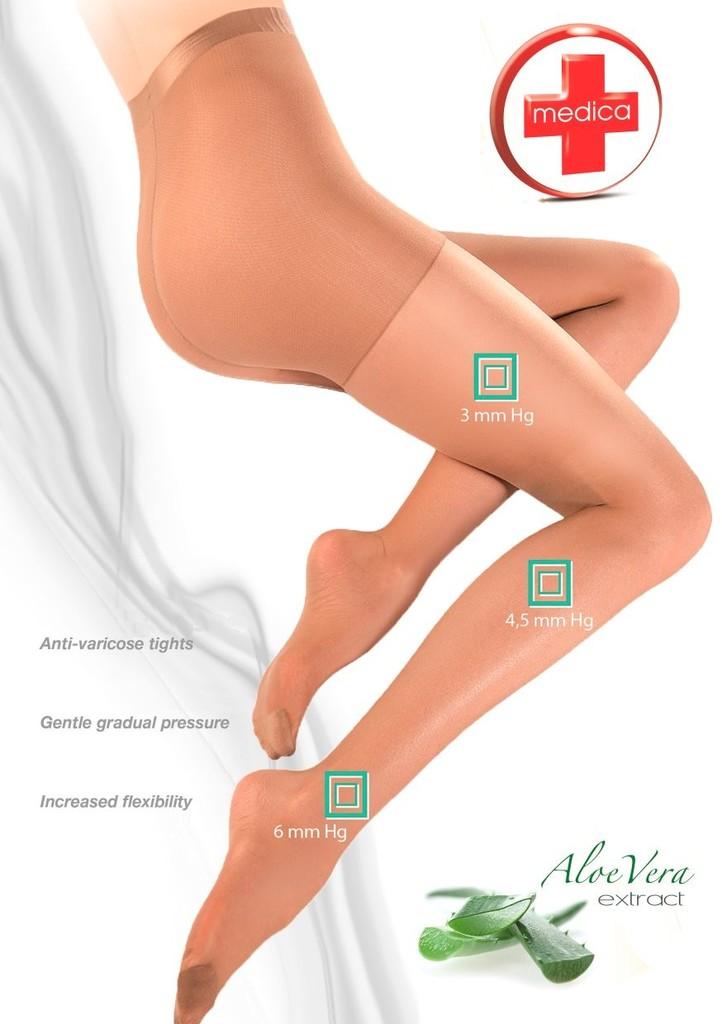 Punčochové kalhoty RELAX tvarujíci linii nohou 20 DEN