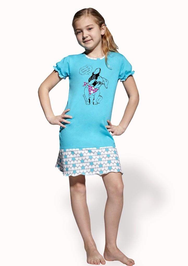 Dětská noční košile s obrázkem psa