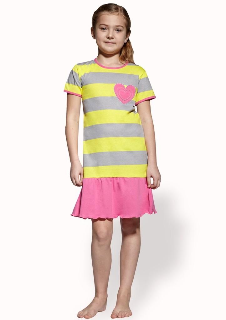 Dětská noční košile se vzorem pruhu