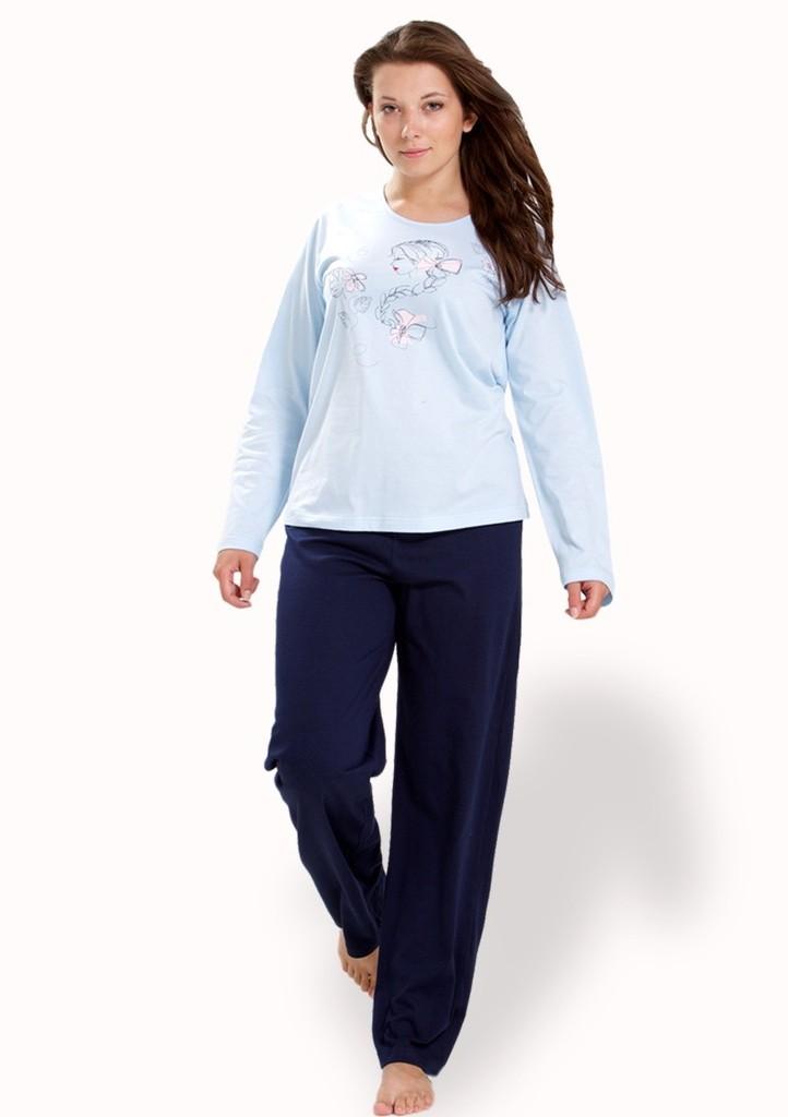 Dámské pyžamo s obrázkem dívky