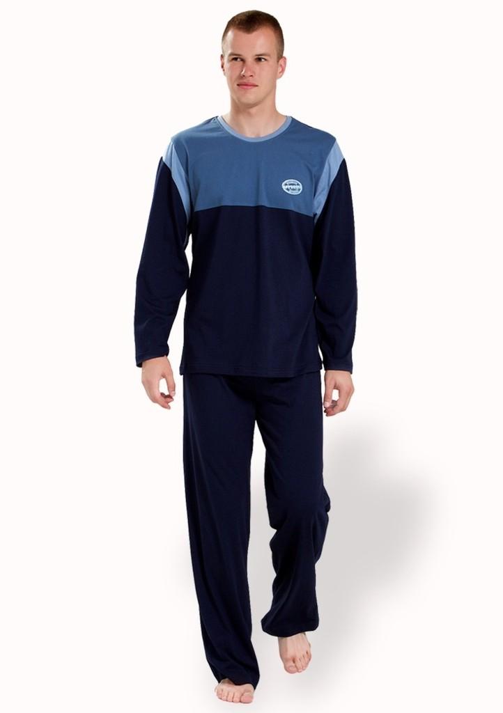 Pánské pyžamo s nápisem Approved