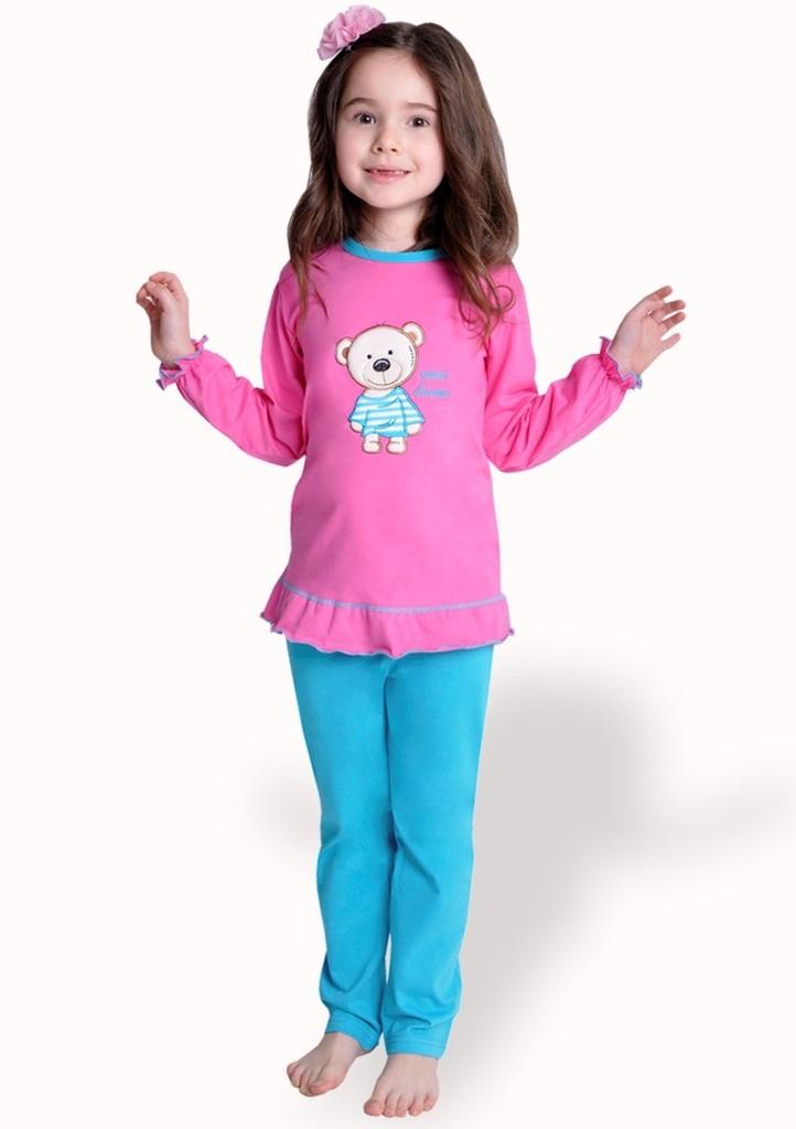 Dětské pyžamo s obrázkem medvěda