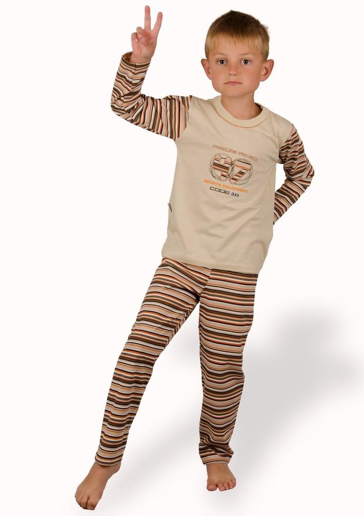 Dětské pyžamo s nápisem 47