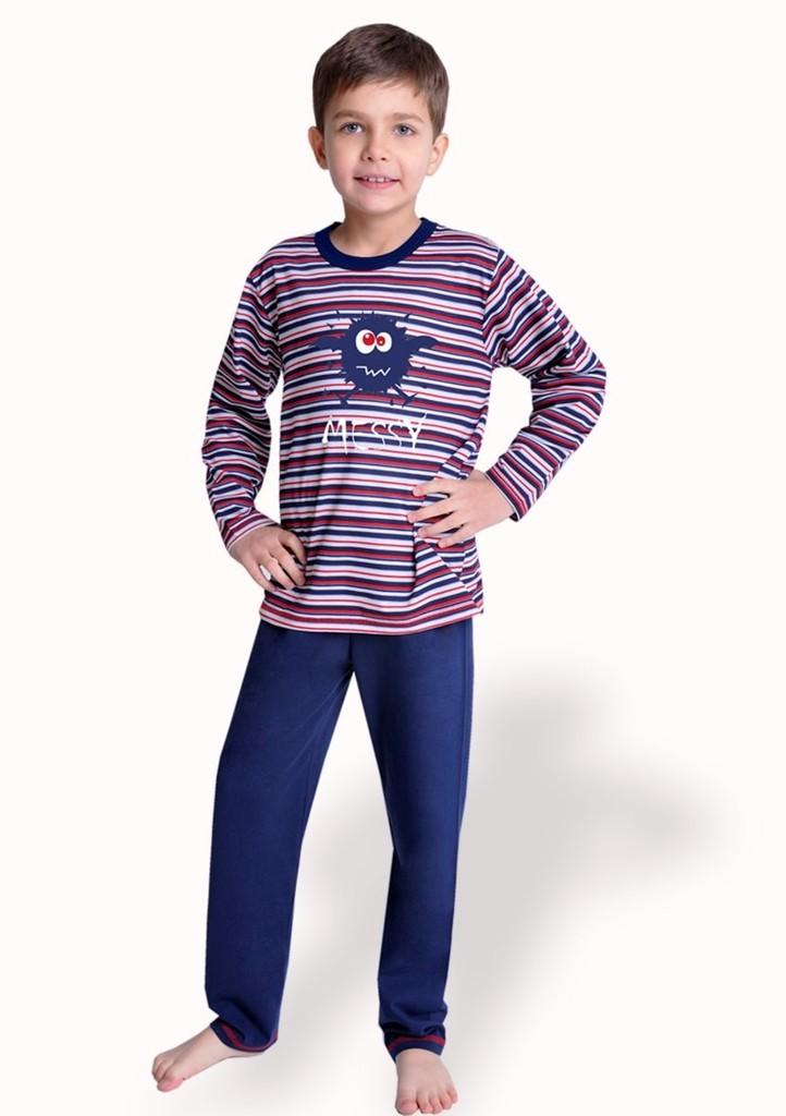 Dětské pyžamo s proužkem
