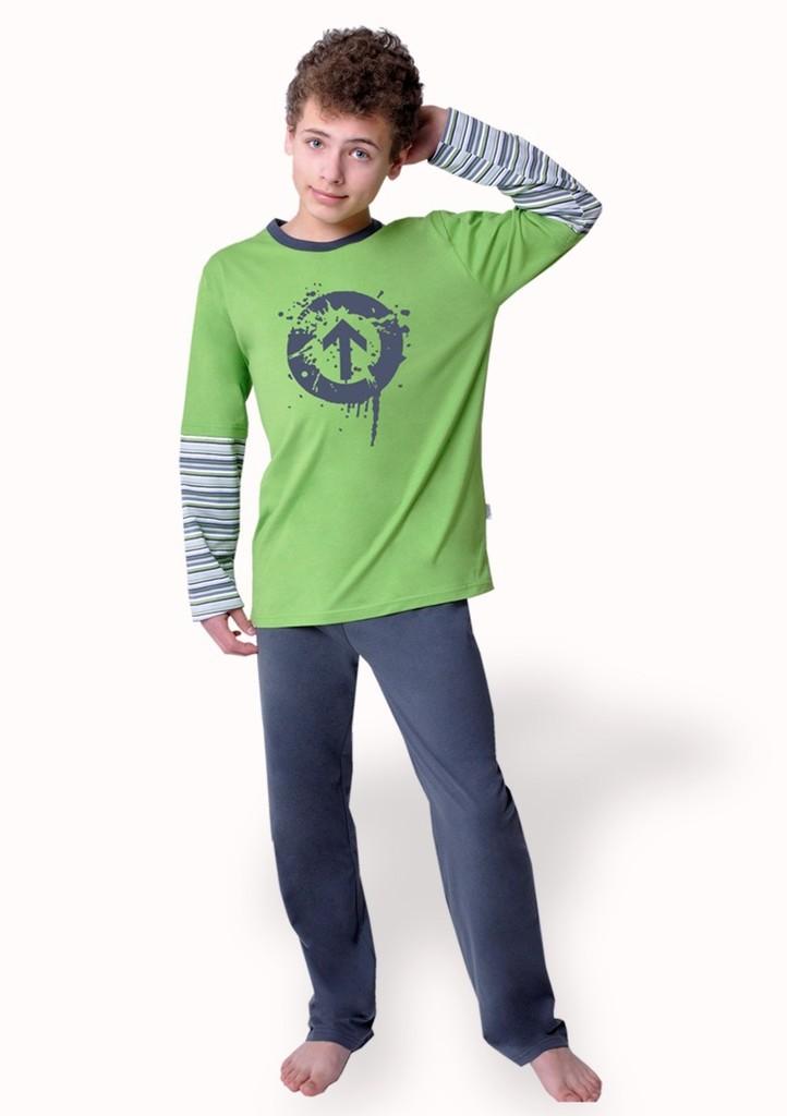 Chlapecké pyžamo s obrázkem šipky