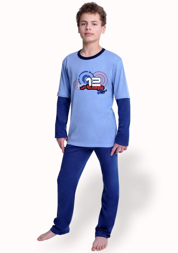Chlapecké pyžamo s nápisem Step boys
