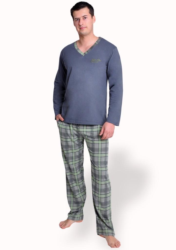 Pánské pyžamo s nápisem False file