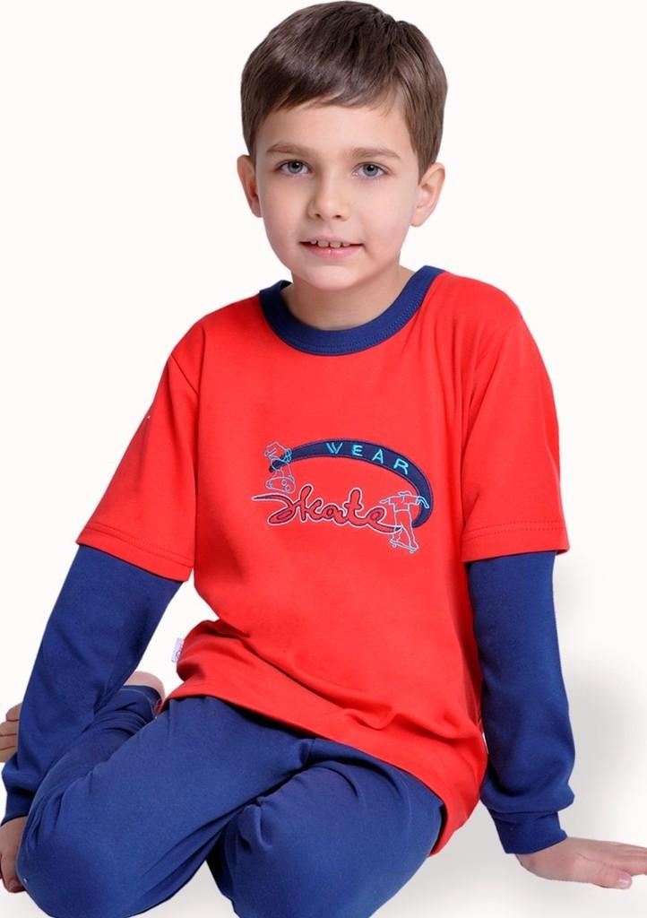 Dětské pyžamo s nápisem Skate wear