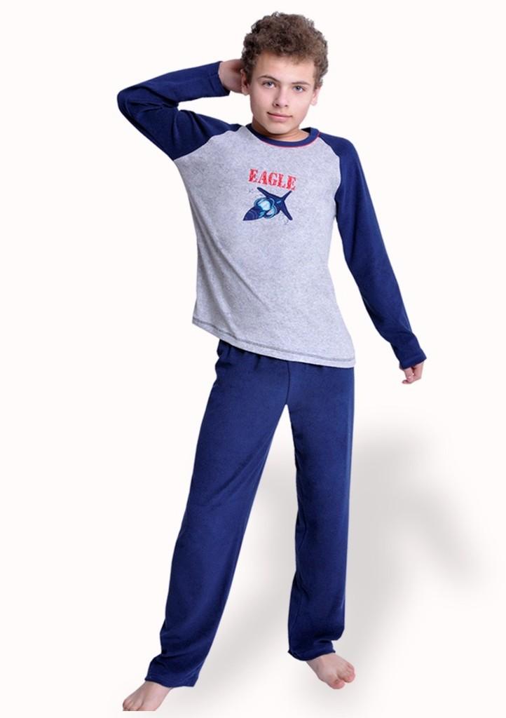 Chlapecké pyžamo s obrázkem letadla