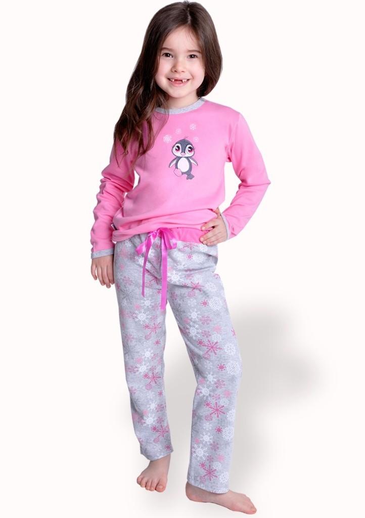 Dětské pyžamo s obrázkem tučňáka