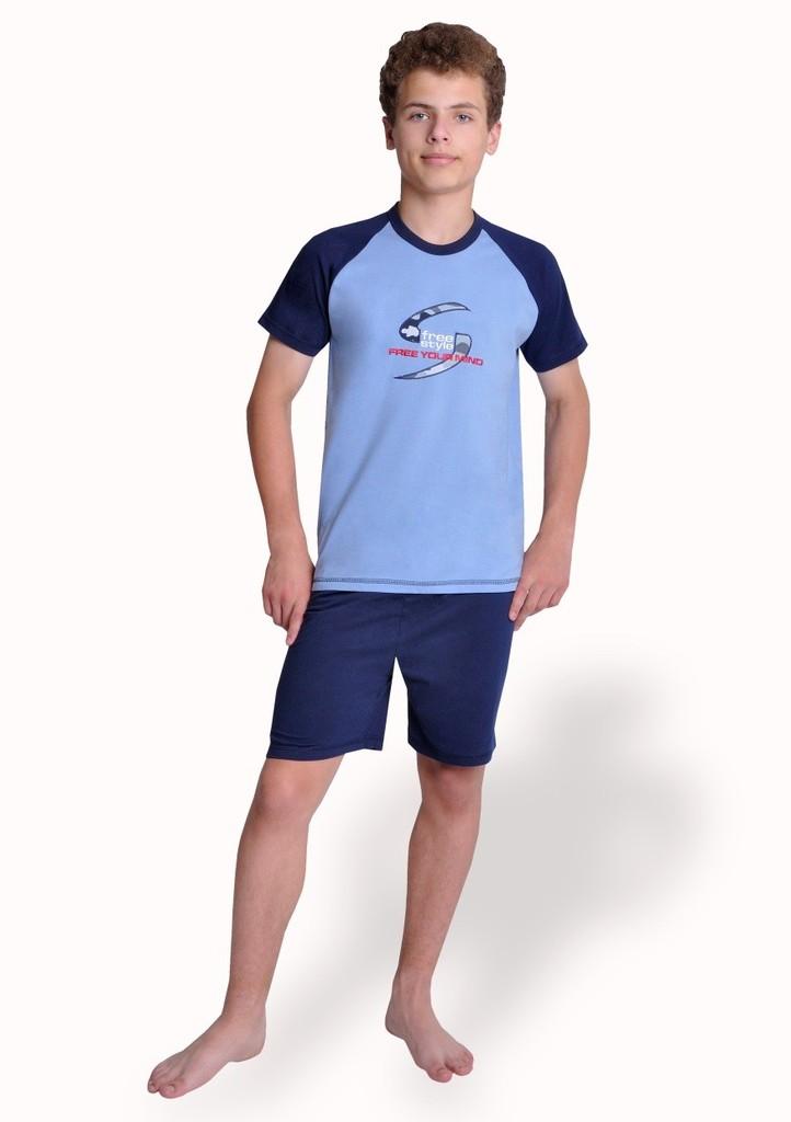 Chlapecké pyžamo s obrázkem free style a kraťasy