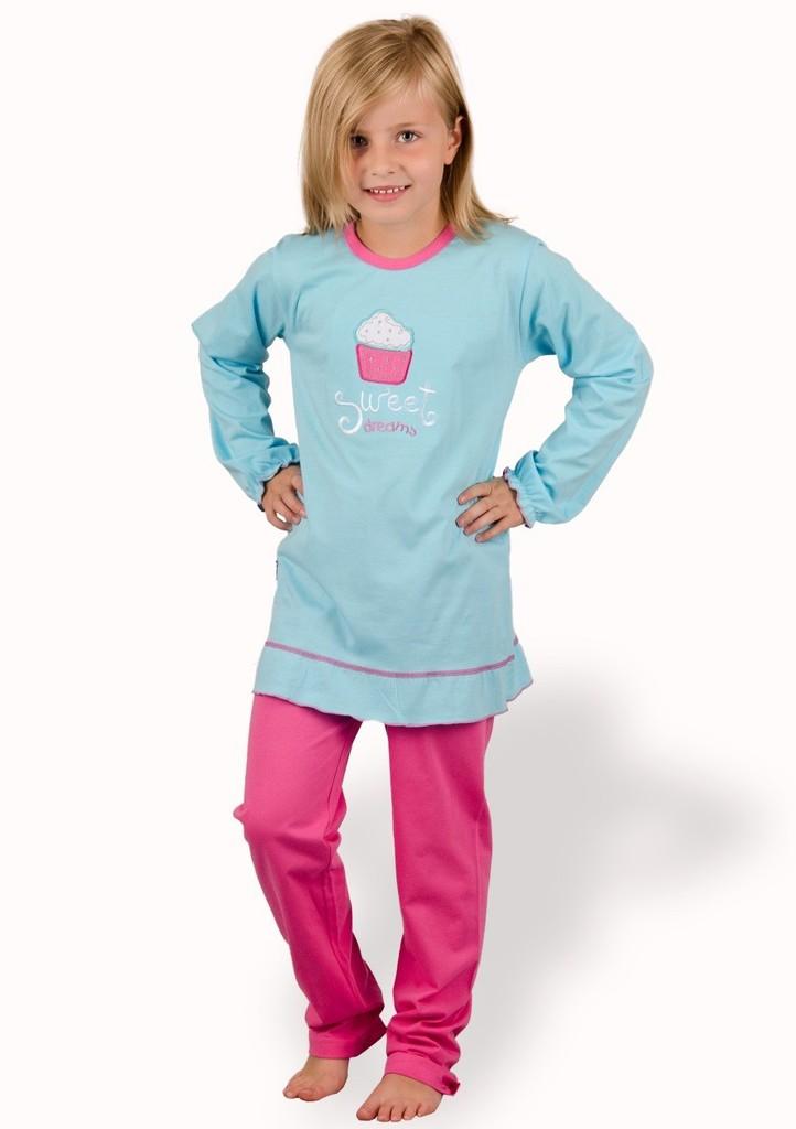 Dětské pyžamo s obrázkem dortíku