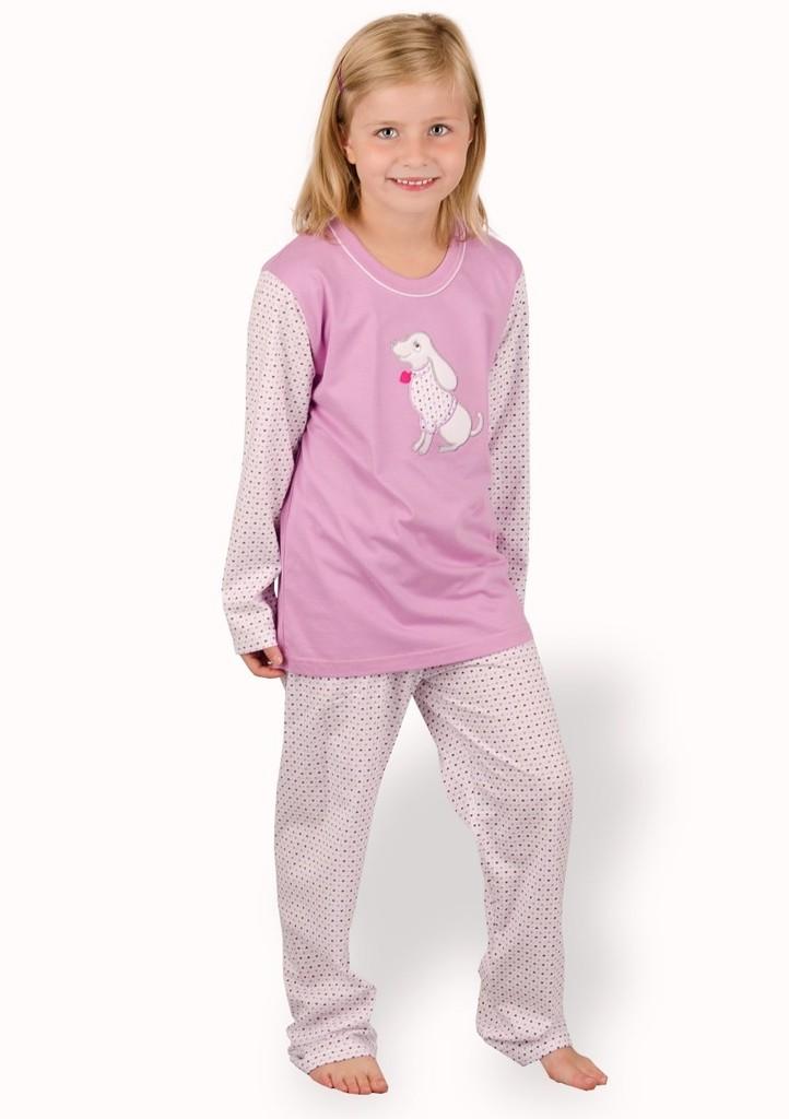 Dětské pyžamo s obrázkem psa