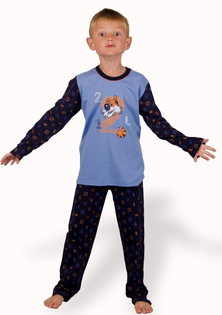Dětské pyžamo s obrázkem tygra