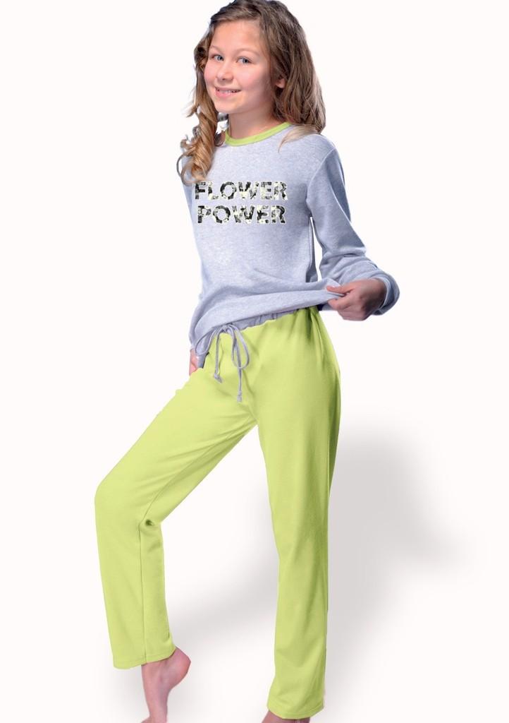 Dívčí pyžamo s Flower power