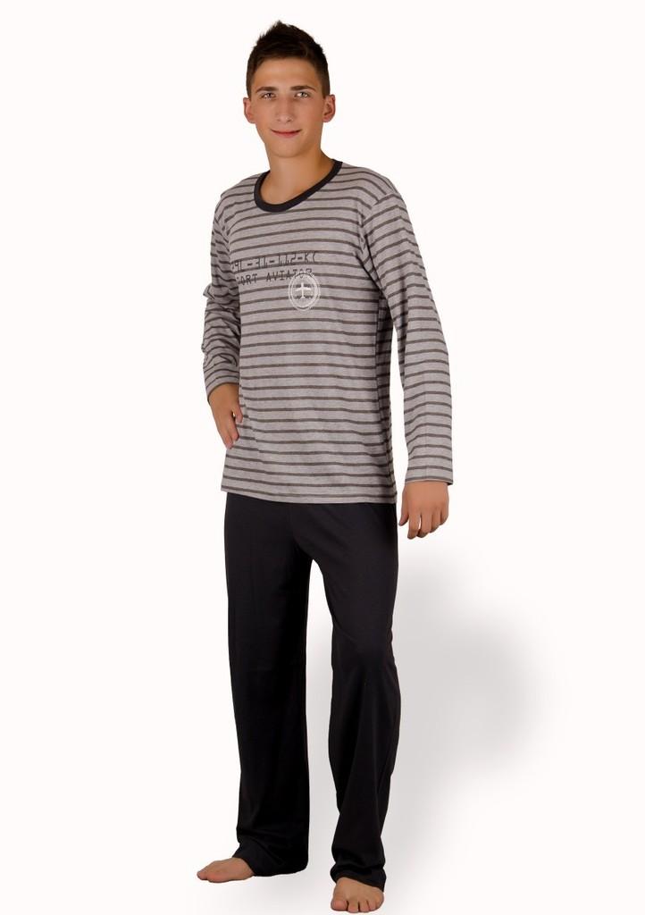 Pánské pyžamo s nápisem Port aviator