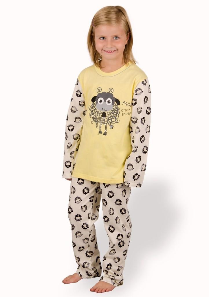 Dětské pyžamo s obrázkem ovečky