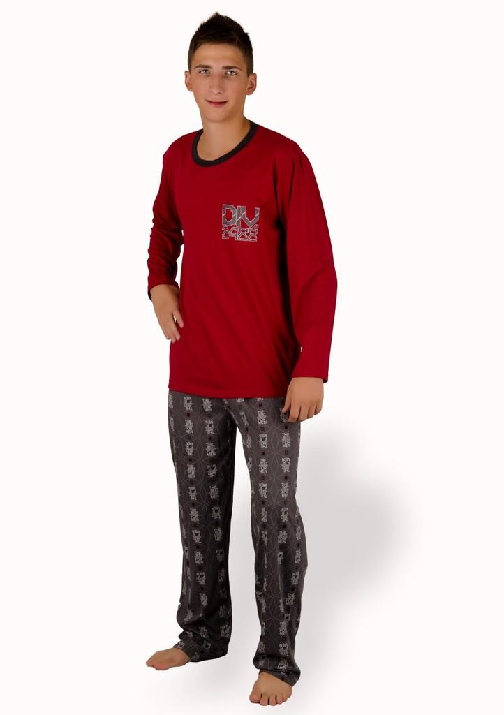 Pánské pyžamo s nápisem DIV