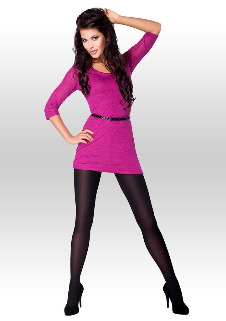 Dámské hladké punčochové kalhoty z mikrofibry Tina