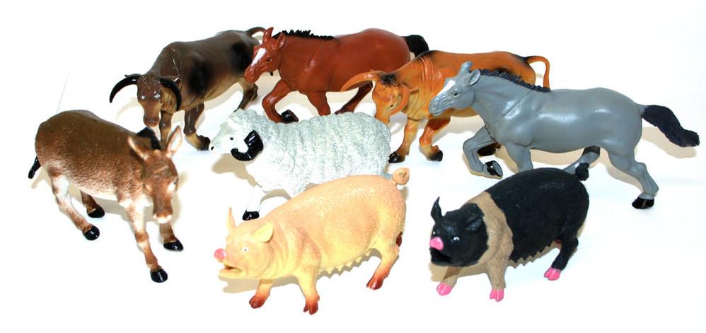 Zvířata domácí 12-20 cm