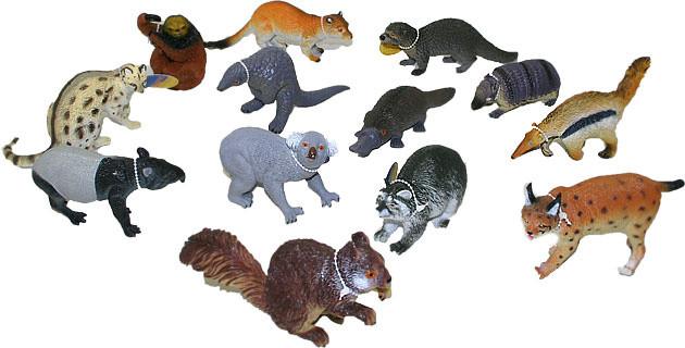 Zvířata lesní 11-18cm