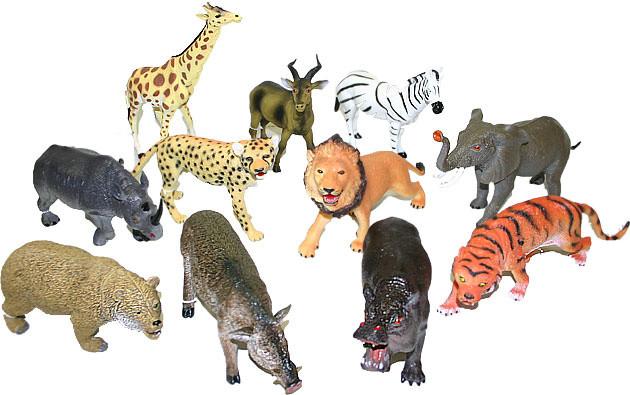 Zvířata divoká 23-31cm