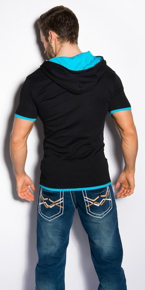 Stylové pánské tričko in-ptr01bl