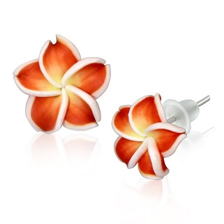 Náušnice Flower