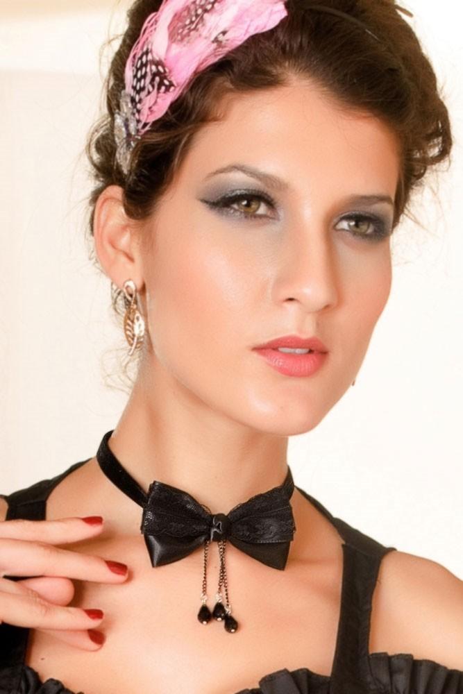 Elegantní dámský náhrdelník d-biz83bl