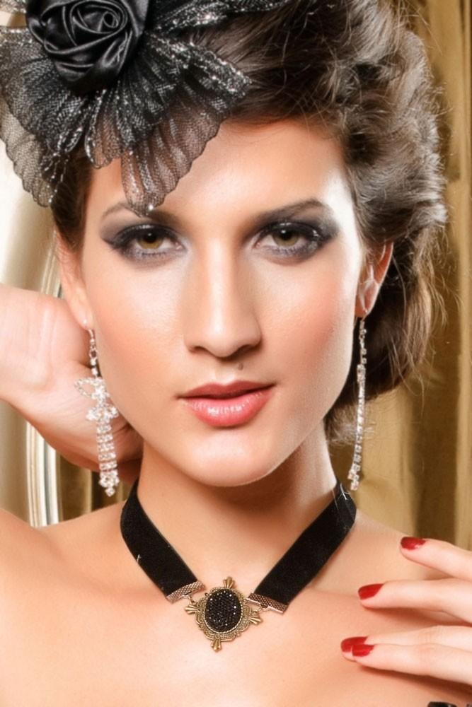 Elegantní náhrdelník d-biz82bl