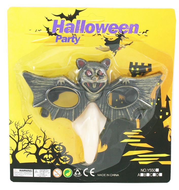 Brýle Halloweenské netopýr