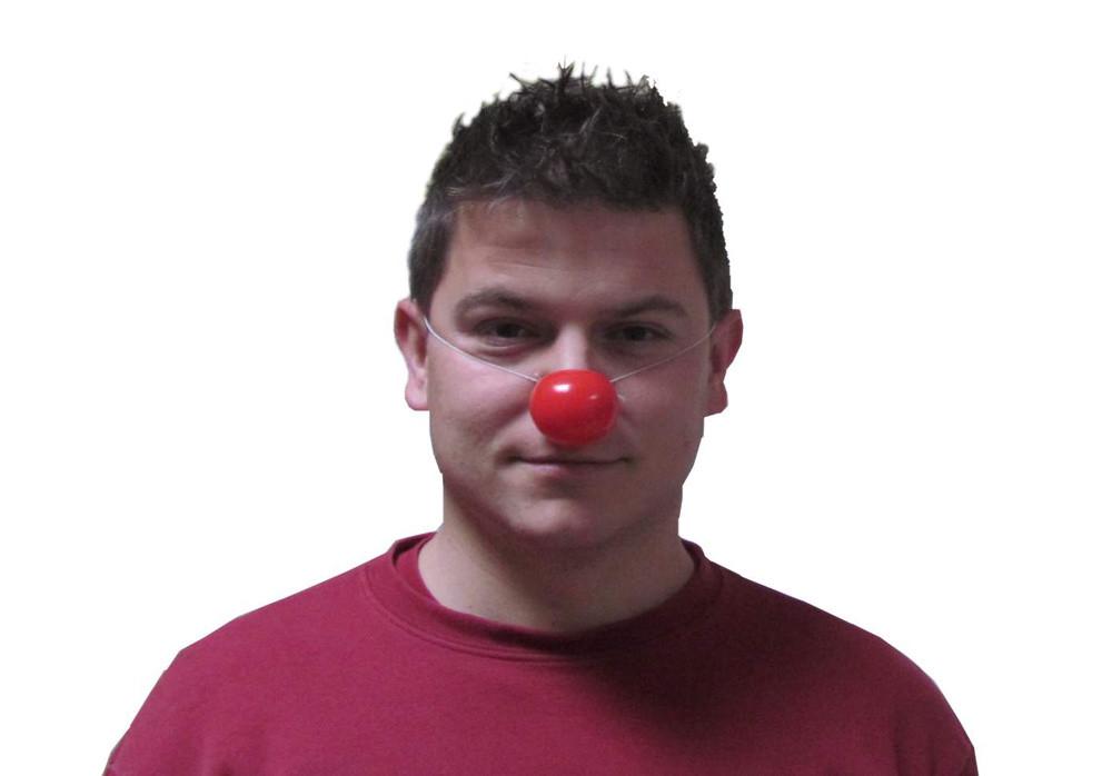 Nos klaun, sáček