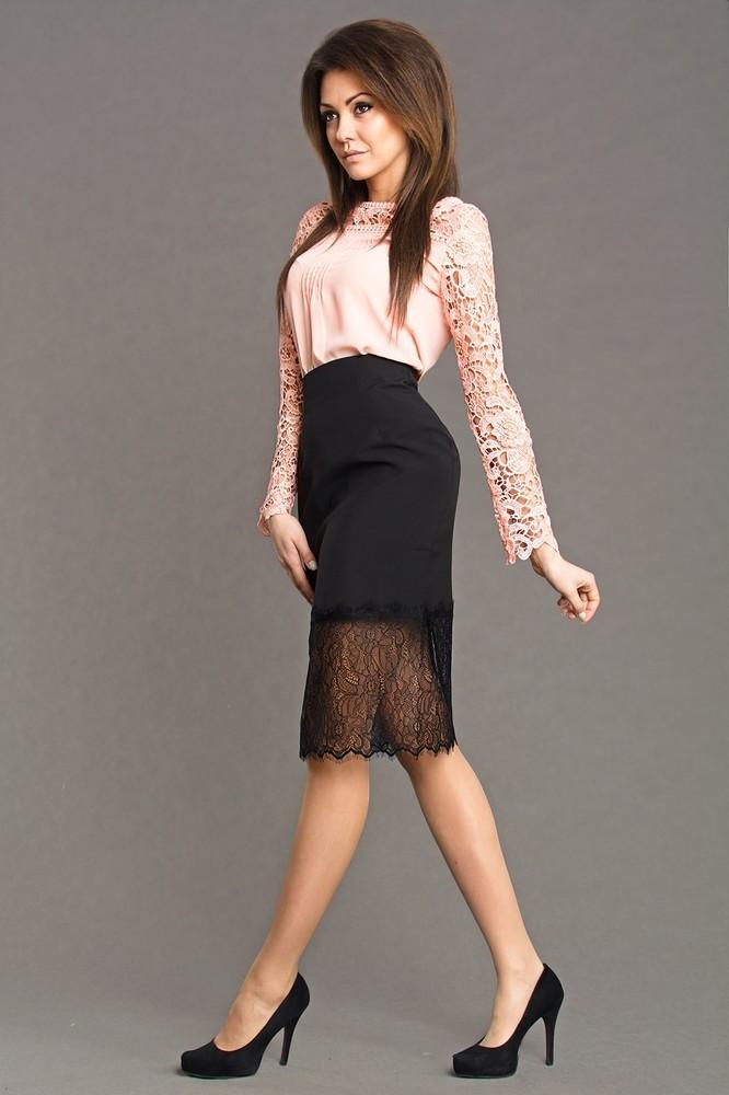 Elegantní dámská sukně ns-su01bl