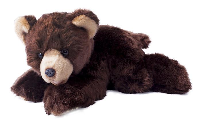 Plyšový medvěd 30cm ležící