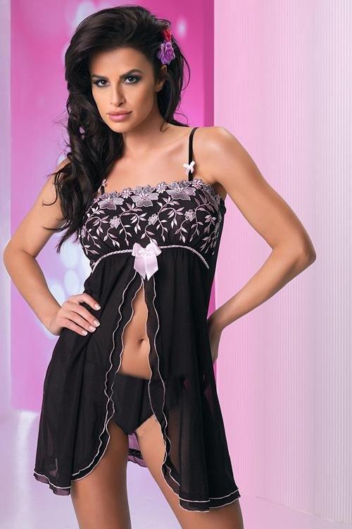 Sexy košilka Regina II Sensual black