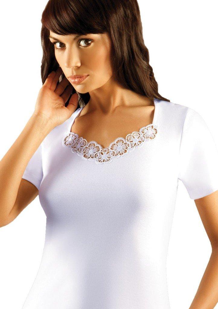 Dámské tričko s jemnou krajkou Dorota